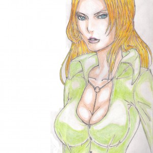 rangiku by wood pencils by me