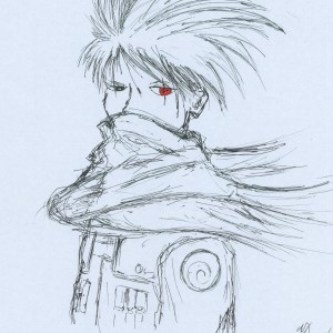 Kakashi in Winter time