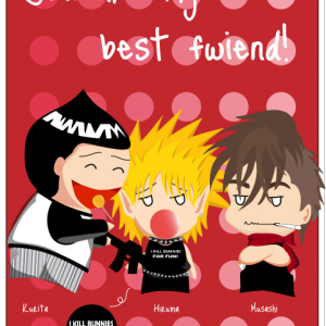 Valentine Card Eyeshield 21